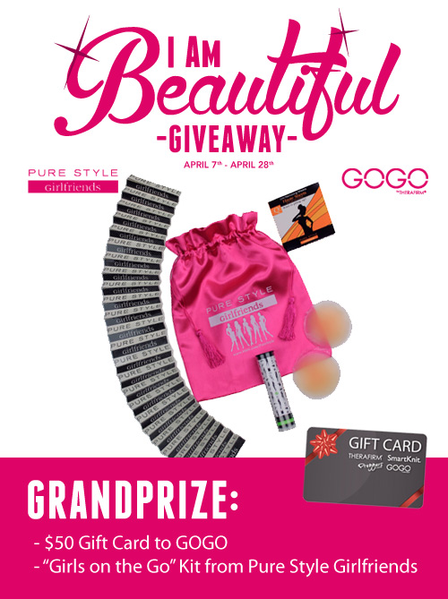 #IAmBeautiful Giveaway | GOGO & PURE STYLE Girlfriends
